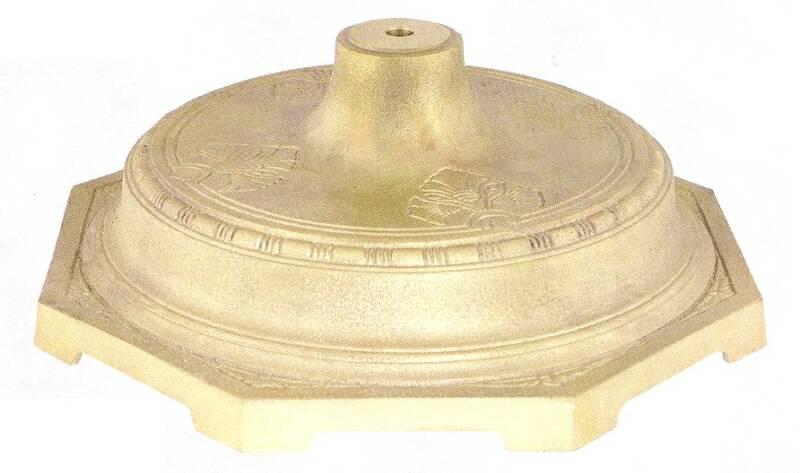 H180 Cast Brass Lamp Bases