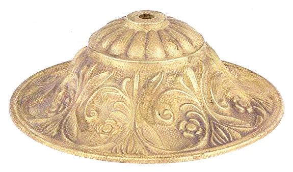 H183 Cast Brass Lamp Bases